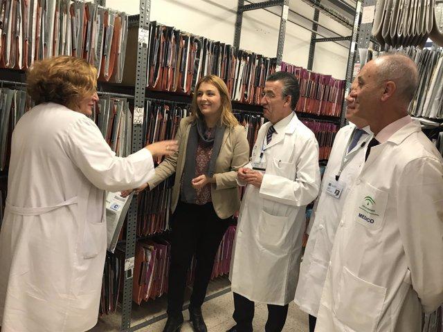 Junta de Andalucía archivo digitalización unidad historias clínias Regional junt