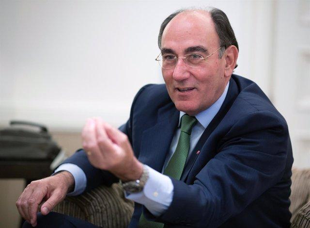 El presidente de Iberdrola, Ignacio Sánchez Galán