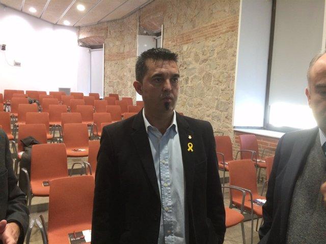El alcalde de Sant Climent de Llobregat, Isidre Sierra