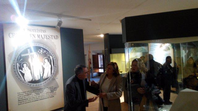 Inauguración de la exposición 'Creencias. Naturaleza, magia y religión' .