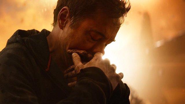 Tony Stark en Vengadores: Infinity War