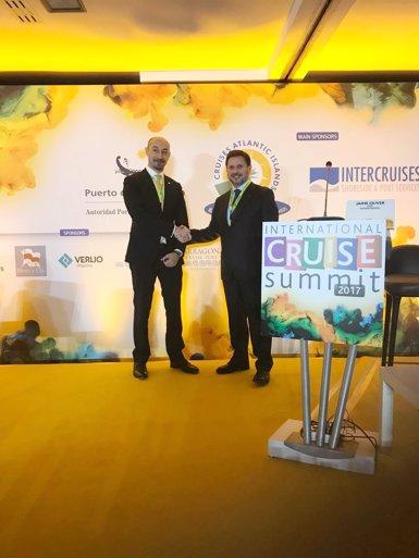Tarragona, presentada com a model d'èxit a l'International Cruise Summit (PORT DE TARRAGONA)