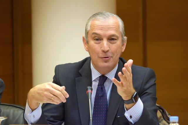Fernández de Mesa en la Comisión de las Corts sobre las instituciones feriales
