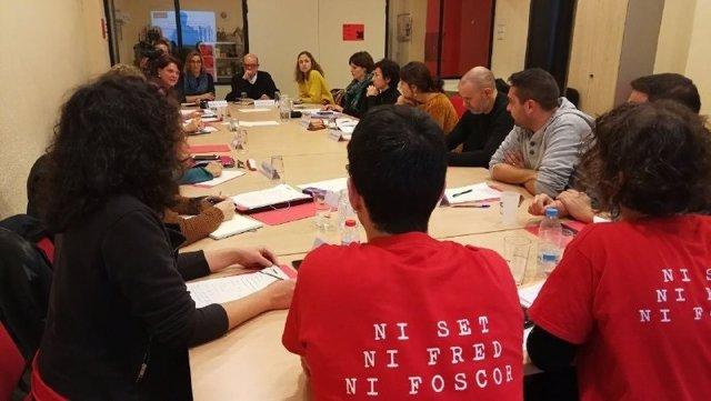 Reunión de la APE con municipios y entidades