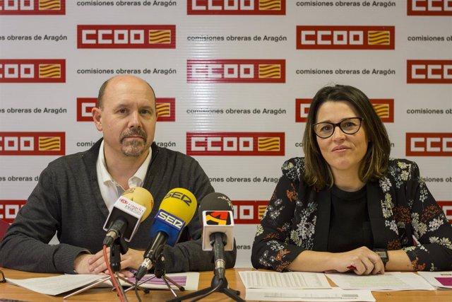 Manuel PIna y Sonia García.