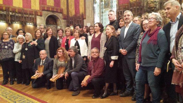 Premiados con las Medallas de Honor de Barcelona de 2017