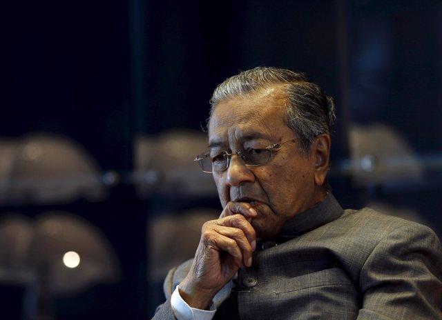 El ex primer ministro malasio Mahathir Mohamad