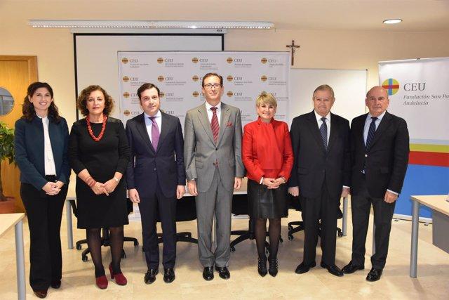 Debate en CEU Andalucía sobre los nuevos retos y oportunidades del protocolo