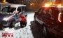 Foto: La nieve mantiene cerrados 11 puertos y con cadenas decenas de carreteras de seis CCAA