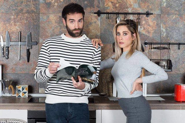 'Allí abajo' inicia el rodaje de su 4ª temporada con María León y Jon Plazaola