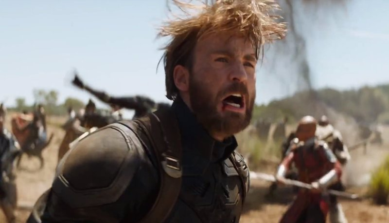Vengadores: Infinity War, la barba del Capitán América causa sensación tras el tráiler