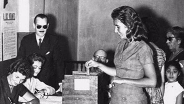 Primera votación de las mujeres en Colombia