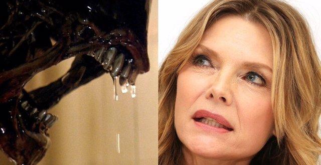 Michelle Pfeiffer fue la inspiración para los xenomorfos de Alien 3