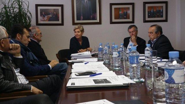 Encuentro de Anamar con la directora general de Pesca de la Junta.