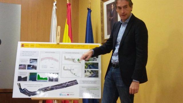 Iñigo de la Serna, ministro de Fomento, presenta nuevo trazado Desfiladero
