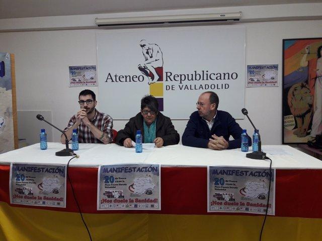 Valladolid. Plataformas en defensa de la Sanidad pública