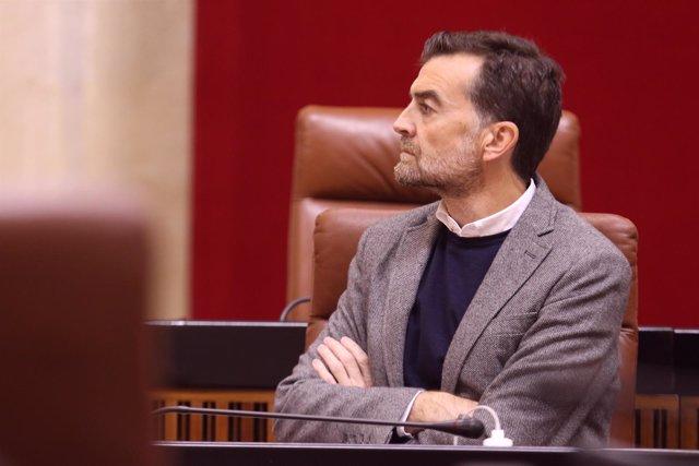 El líder andaluz de IULV-CA, Antonio Maíllo