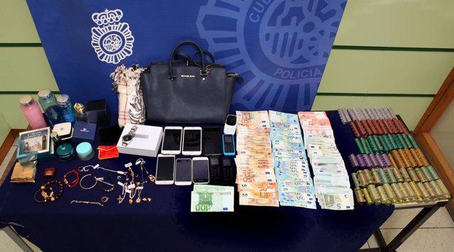 Tres detenidos por robos en viviendas de ciudadanos de origen chino.