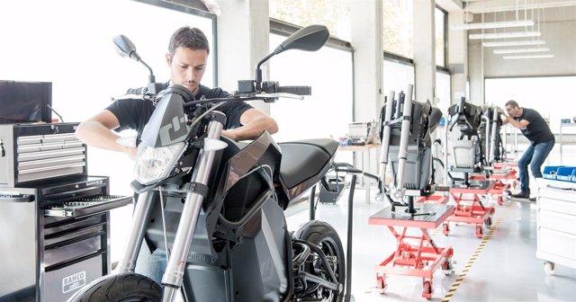 Planta de Volta Motorbikes, motos eléctricas, producción
