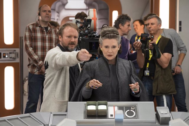 Rian Johnson en Star Wars 'Los últimos Jedi'