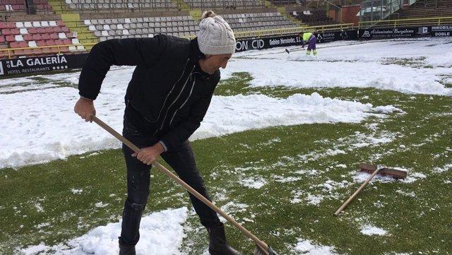 Patxi Salinas Burgos nieve El Plantío