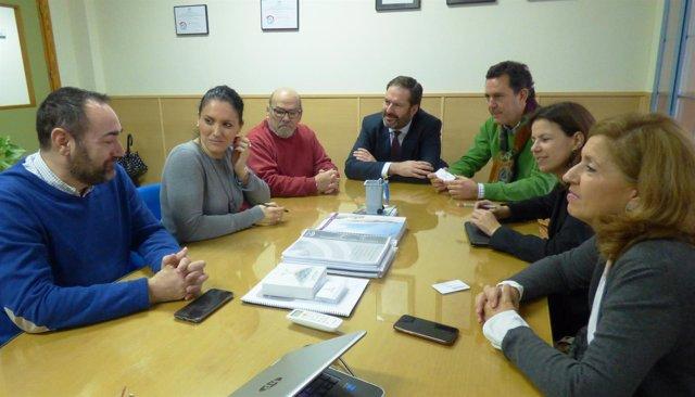 Reunión del PP de Córdoba con Fepamic
