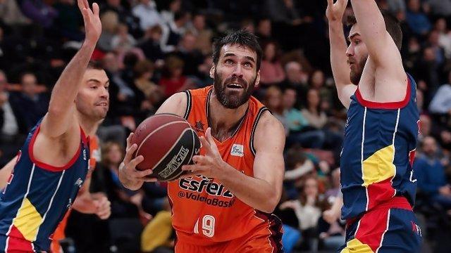 Fernando San Emeterio Valencia Basket MoraBanc Andorra