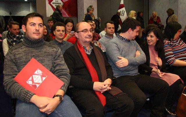 Clausura del Congreso de Juventudes Socialista en Aragón.