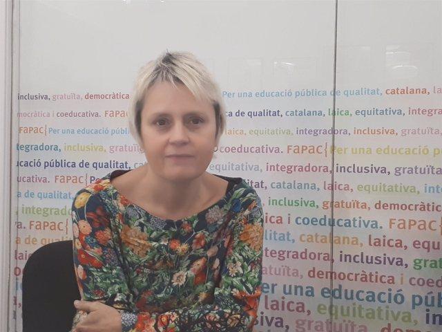 La presidenta de Fapac, Belén Tascón