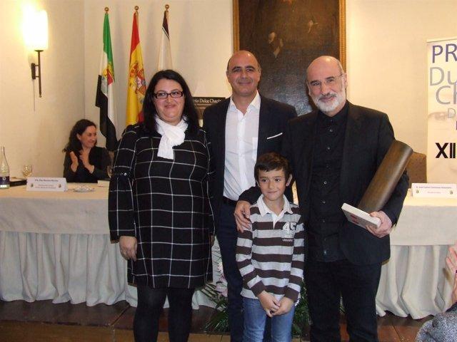 Fernando Aramburu recoge el Premio Dulce Chacón