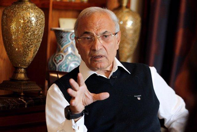 El ex primer ministro egipcio Ahmed Shafik