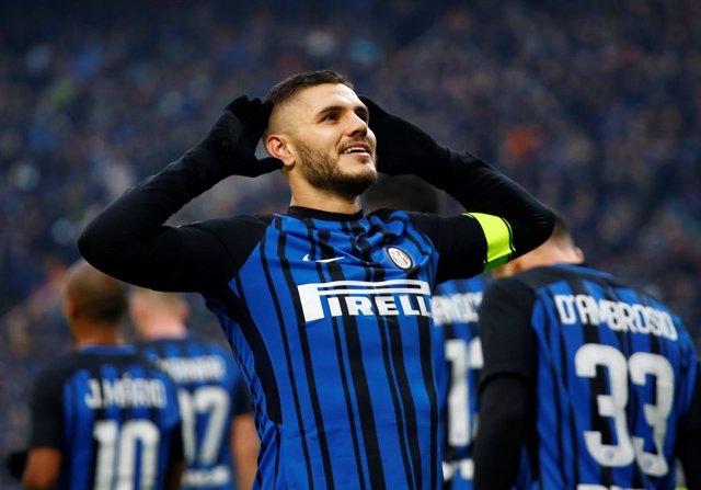 Mauro Icardi, del Inter de Milán