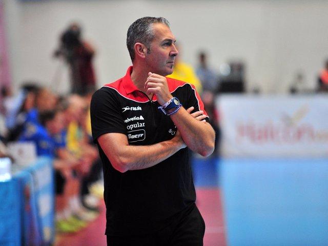 Carlos Viver, seleccionador nacional de balonmano
