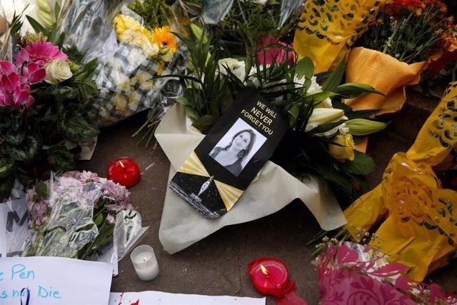 Homenaje a Daphne Caruana Galizia
