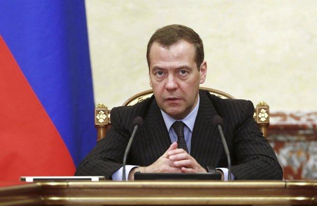 Dimitri Medvedev, el primer ministro ruso