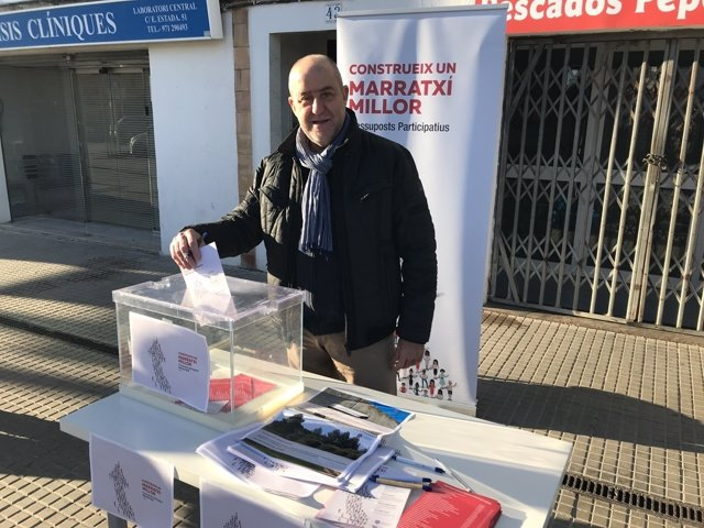 Votando en Marratxí