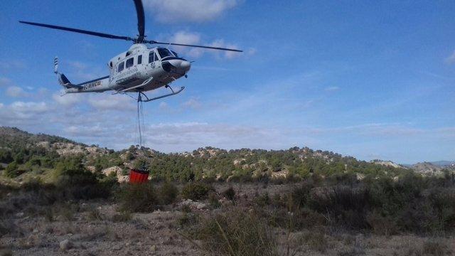 Helicóptero de la Generalitat