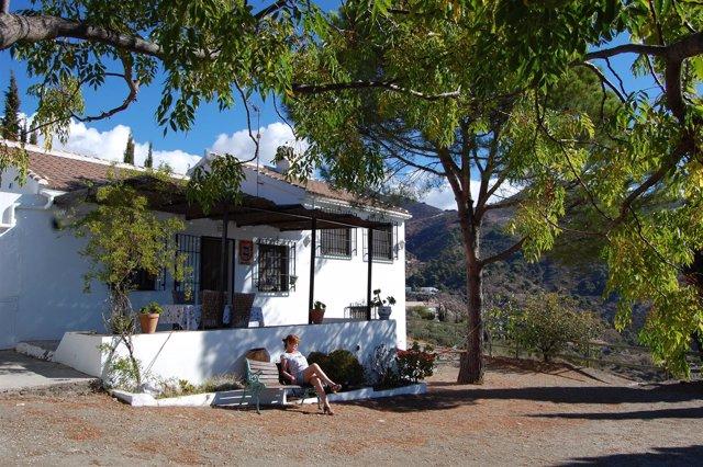 Casa rural en Málaga.
