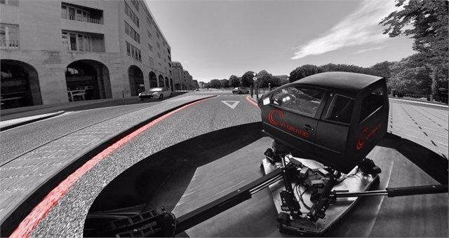 Nuevo simulador de conducción de Honda