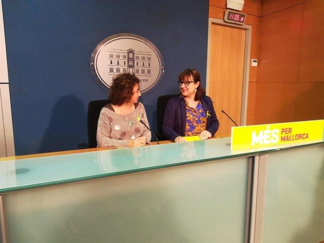 Joana Aina Campomar Y Bel Busquets