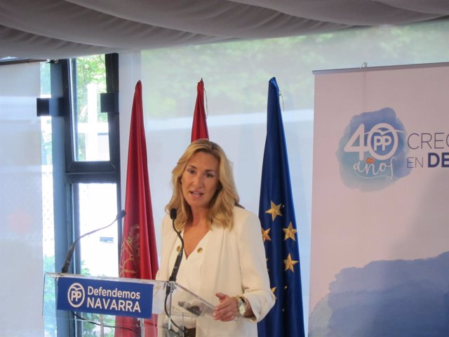 Ana Beltrán, presidenta del PPN