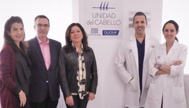 Convenio Ducray y Hospital Doctor Gálvez