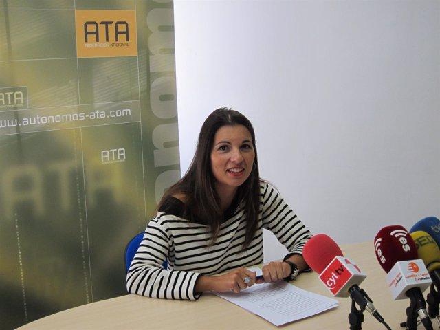 La presidenta de ATA en Castilla y León, Soraya Mayo
