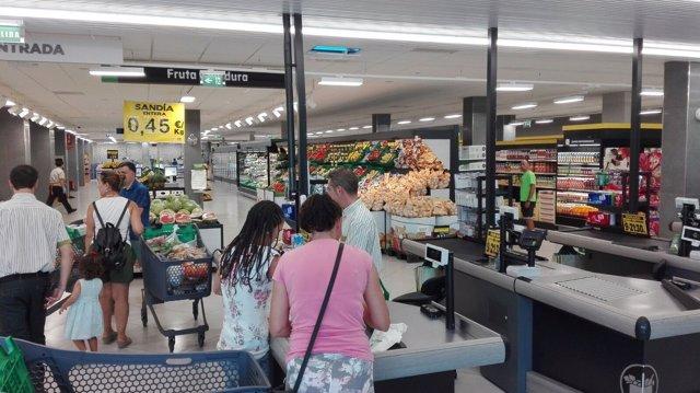 Supermercado de Mercadona en Córdoba.