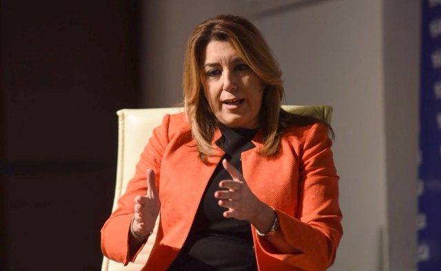 Susana Díaz participa en los encuentros de la cadena Ser sobre el 4D