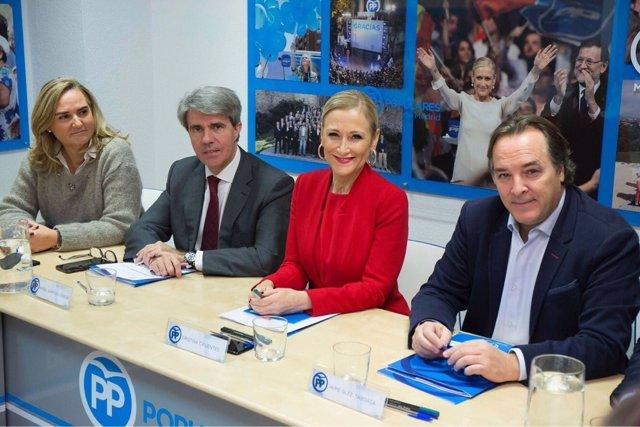 Cristina Cifuentes, presidenta del PP de Madrid