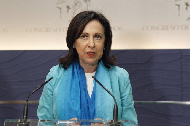 Margarita Robles, portavoz del PSOE