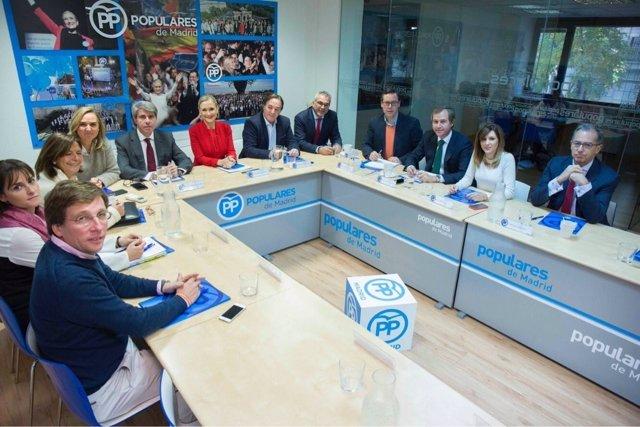 Cifuentes en el comité de dirección