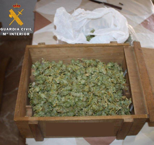 Material intervenido en la operación contra la cocaína