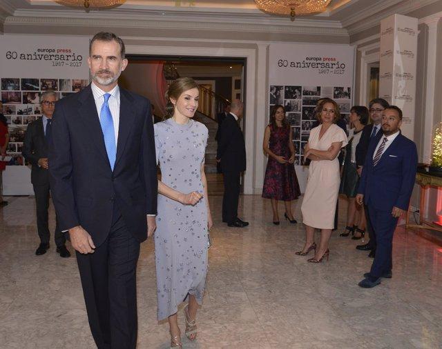 Europa Press celebra su 60 aniversario con los Reyes